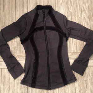 Lululemon zip up sweat shirt